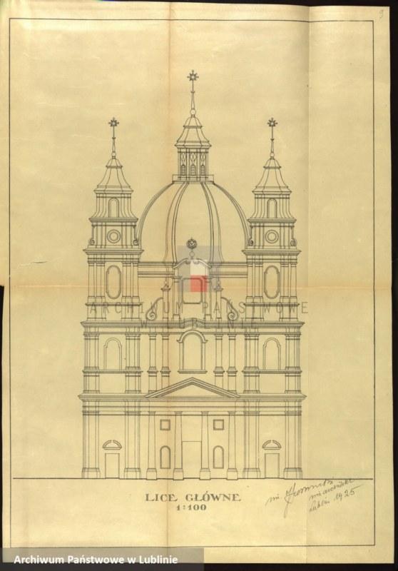 """Obraz 4 z kolekcji """"Najciekawsze projekty i plany budowlane z okresu międzywojennego"""""""