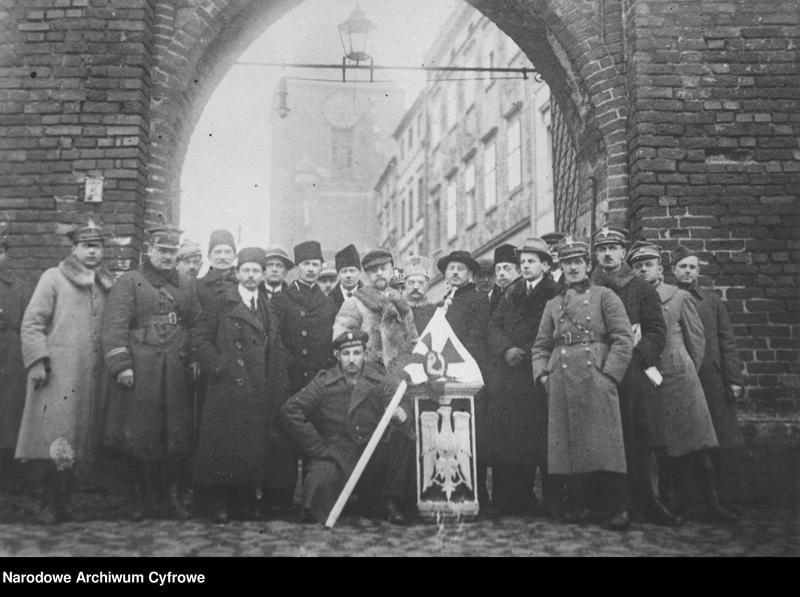 """Obraz 5 z kolekcji """"Zaślubiny Polski z morzem w 1920 r."""""""
