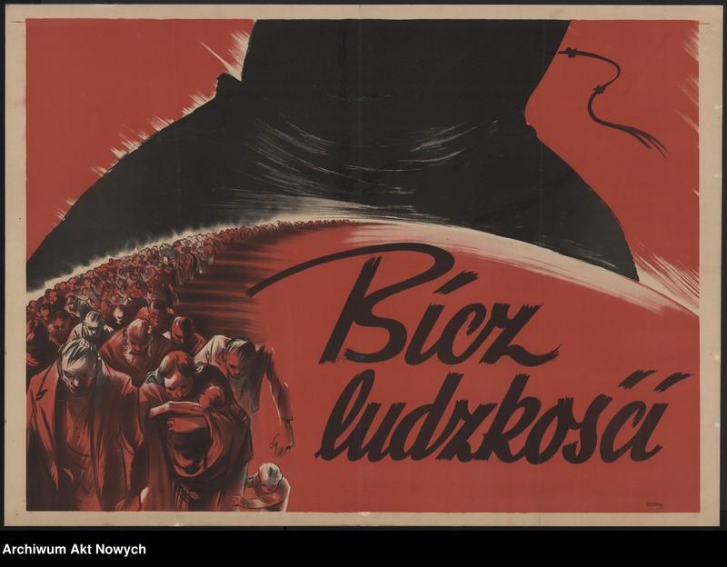 """Obraz 5 z kolekcji """"Propaganda niemiecka z okresu II wojny światowej."""""""