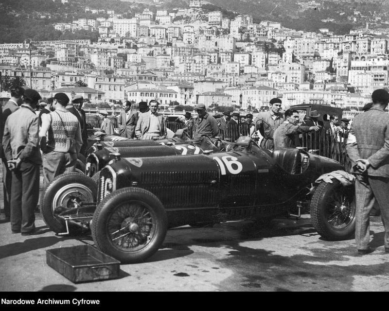 """Obraz 2 z jednostki """"Międzynarodowy wyścig samochodowy o Grand Prix Monaco w Monte Carlo"""""""