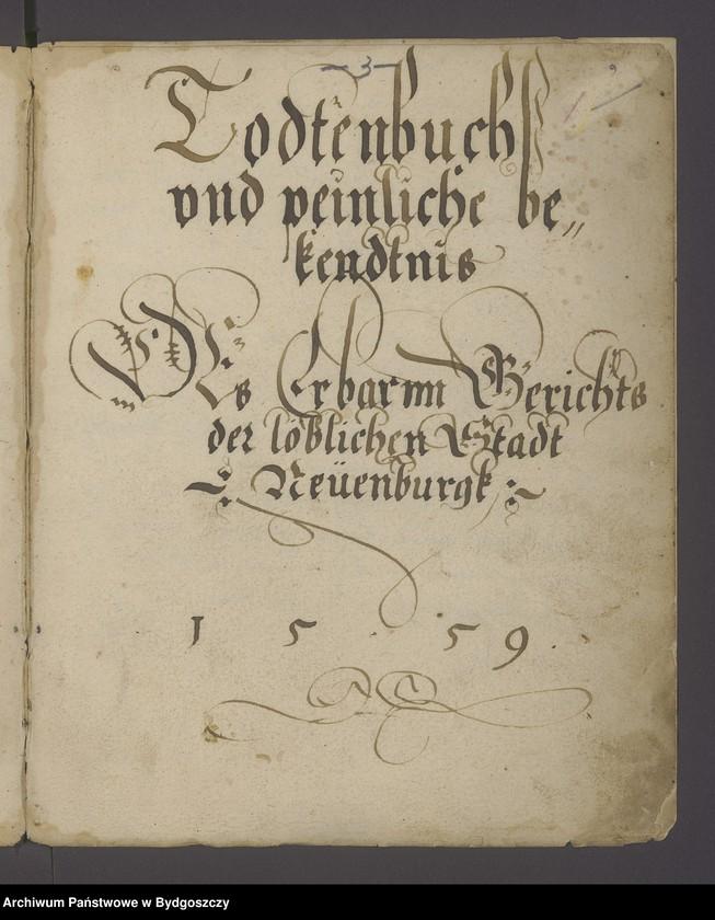 """image.from.unit """"Protokollbuch des peinliches Gerichtes der Stadt Neuenburg bezeichnet als Todtenbuch"""""""