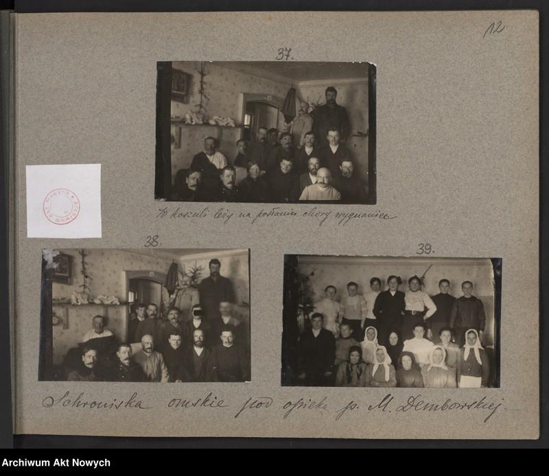 """Obraz 7 z kolekcji """"Album """"Szlakami wygnańców"""" 1915-1916"""""""