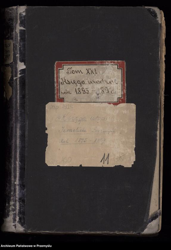 """Obraz z jednostki """"Księga urodzin rok 1897 tom XXI [Księga urodzeń]"""""""