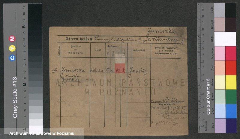 """Obraz 1 z jednostki """"Janiszka - Janklewicz"""""""