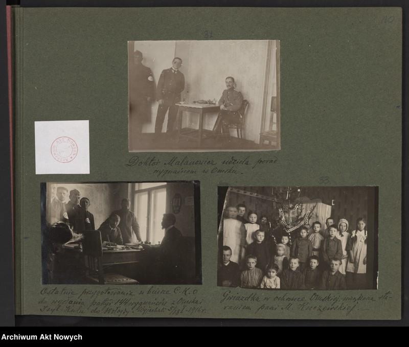 """Obraz 5 z kolekcji """"Album """"Szlakami wygnańców"""" 1915-1916"""""""