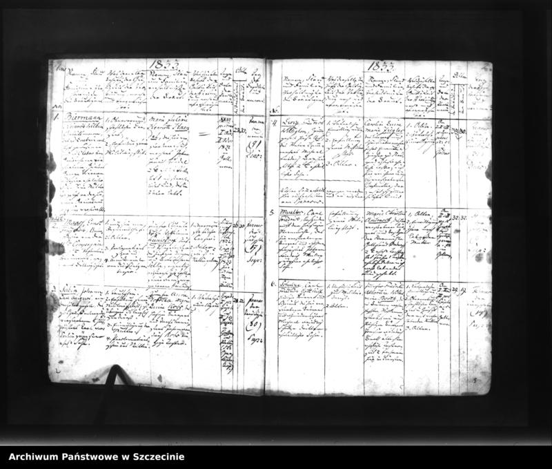 """Obraz z jednostki """"Kirchliches Copulationsregister der Stad Gollnow der St. Katharinen-Kirchengemeinde."""""""