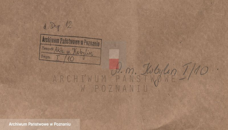 """Obraz z jednostki """"Or. - Zygmunt III, król polski ...potwierdza i transumuje przywilej króla Stefana Batorego z 1578.7.XII wraz z transumptem przywileju Mikołaja, wojewody kaliskiego i dziedzica miasta Kobylin, wydanym w Kobylinie 1449.20.VII, którym zwalnia miasto od ciężarów na rzecz dziedziców miasta, określa czynsz z ogrodów na 3 grzywny rocznie oraz należność w naturaliach i 3 grzywien z tytułu długów, nadaje prawo do połowu ryb w Przekopie, do wybudowania mielcucha, zakupu soli i piwa w Świdnicy, pobierania opłat targowych oraz inne uprawnienia gospodarcze."""""""