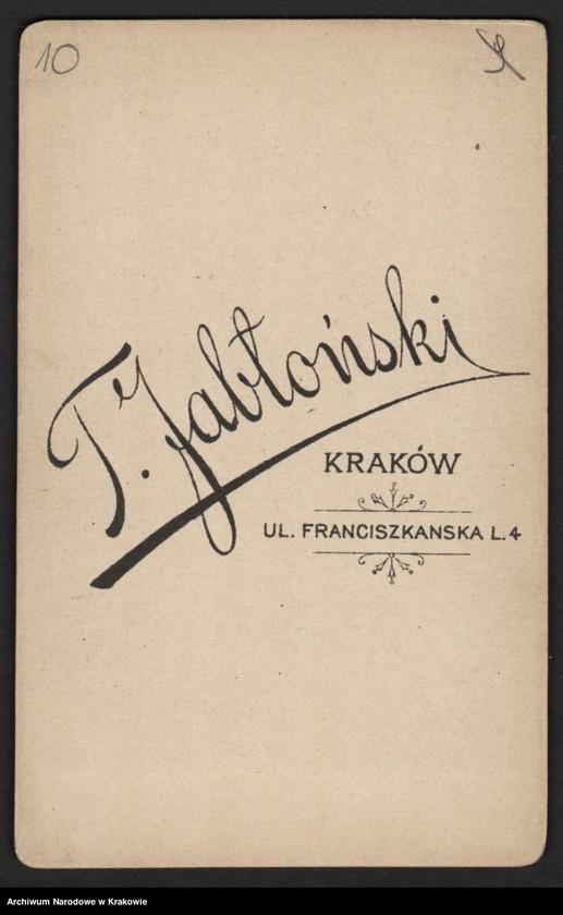 """Obraz 7 z jednostki """"Zdjęcia powstańców z r. 1863/64 [21 sztuk (w tym dublety) + 1 wycinek z gazety]"""""""