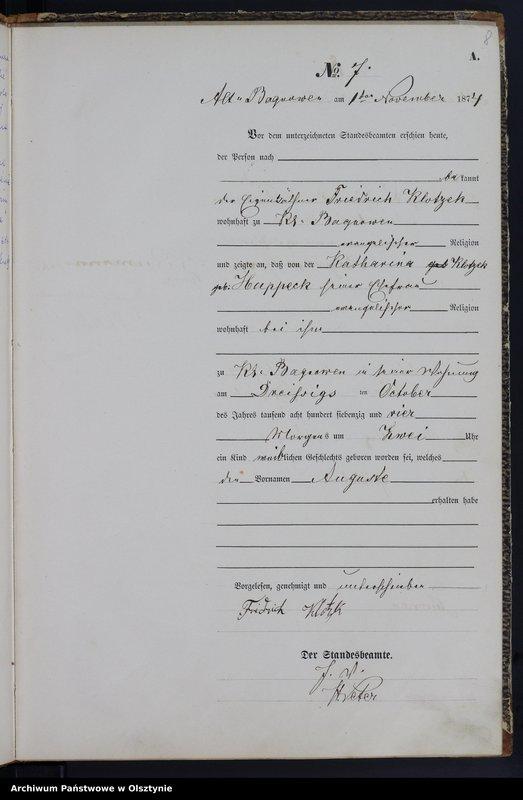 """image.from.team """"Urząd Stanu Cywilnego w Bagienicach pow. mrągowski"""""""