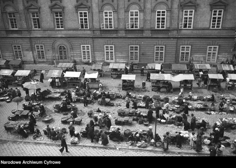 Obiekt Fragment miasta. z jednostki Lwów