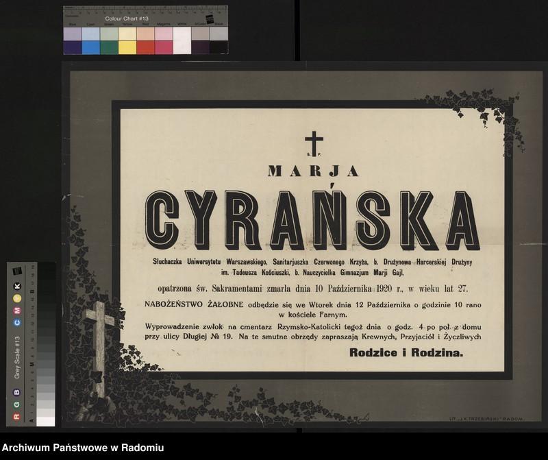 """Obraz 5 z kolekcji """"Polskie Towarzystwo Czerwonego Krzyża (Od 1927 r. Polski Czerwony Krzyż)"""""""