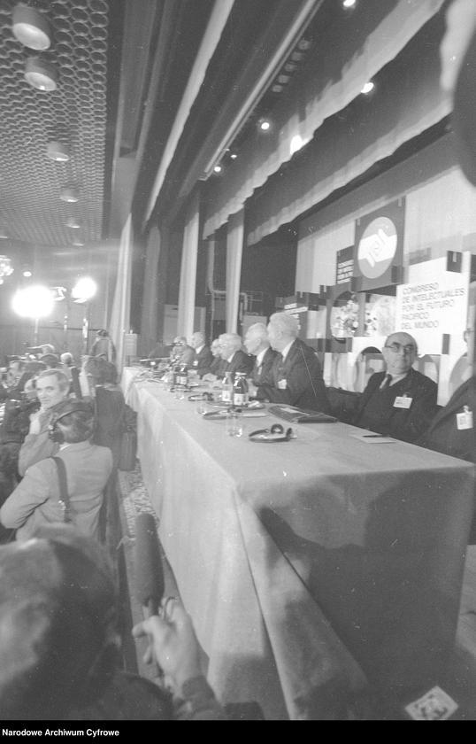 """Obraz 5 z jednostki """"Kongres Intelektualistów w Obronie Pokojowej Przyszłości Świata w Hotelu Victoria w Warszawie"""""""