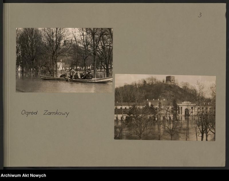 """Obraz 6 z jednostki """"Powódź na Wileńszczyźnie w 1931 r. Album z fotografiami."""""""
