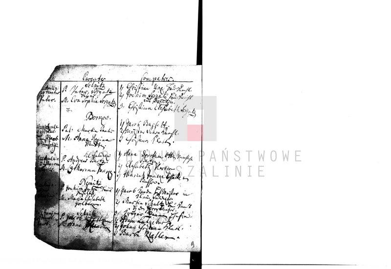 """Obraz 2 z kolekcji """"Najstarsze księgi metrykalne w zasobie AP w Koszalinie"""""""