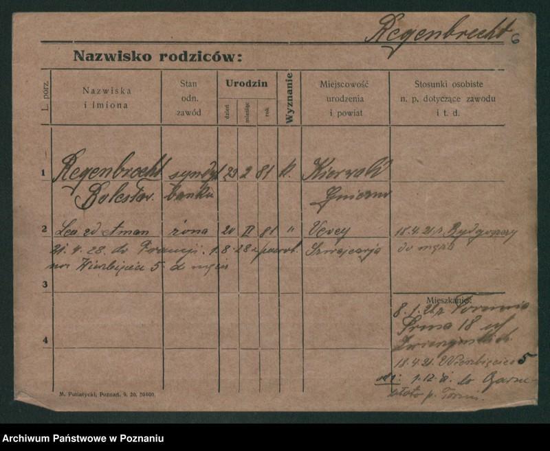 """Obraz 8 z jednostki """"Regenberg - Relewicz"""""""