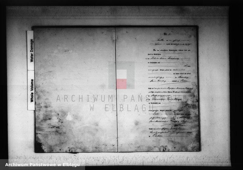 """Obraz z jednostki """"Księga małżeństw 1876 rok"""""""