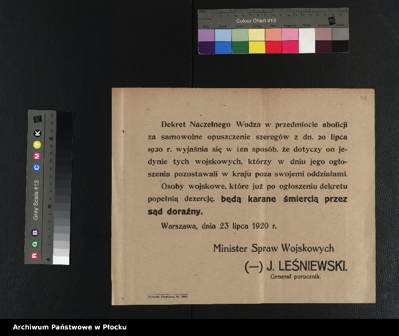 """Obraz 3 z kolekcji """"plakaty z wojny polsko-bolszewickiej"""""""