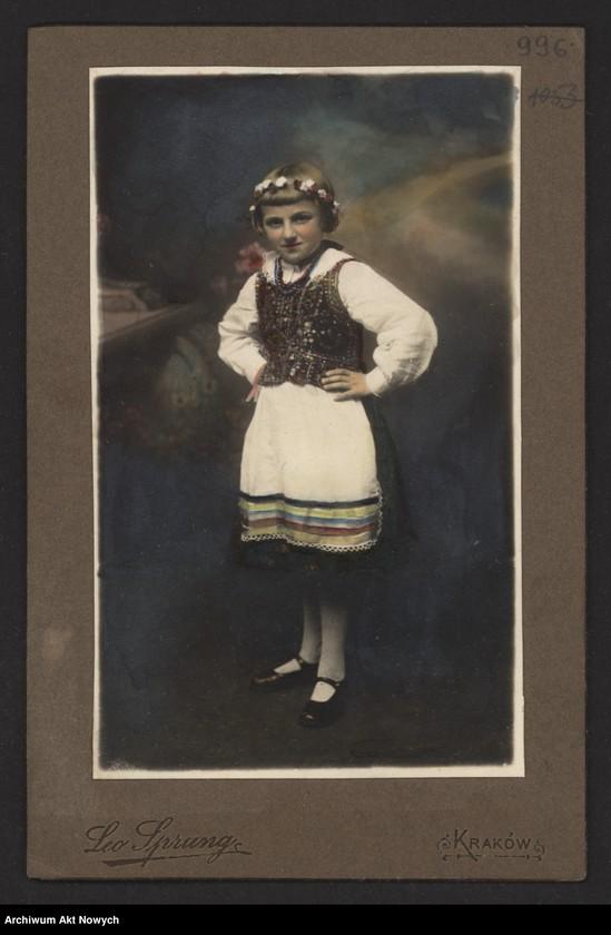 """Obraz 20 z kolekcji """"Polskie stroje ludowe"""""""