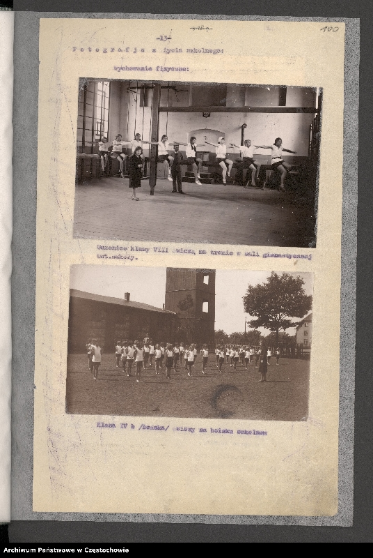 """Obraz 3 z kolekcji """"Pierwszy dzwonek - rozpoczęcie roku szkolnego w kronikach"""""""