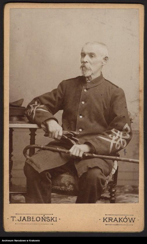 """Obraz z jednostki """"Zdjęcia powstańców z r. 1863/64 [21 sztuk (w tym dublety) + 1 wycinek z gazety]"""""""