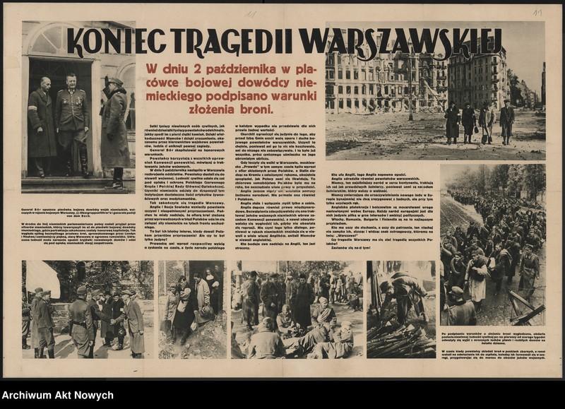 """Obraz 3 z kolekcji """"Propaganda niemiecka z okresu II wojny światowej."""""""