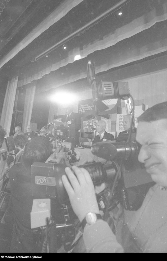 """Obraz 12 z jednostki """"Kongres Intelektualistów w Obronie Pokojowej Przyszłości Świata w Hotelu Victoria w Warszawie"""""""