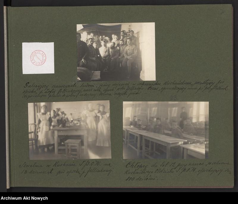 """Obraz 2 z kolekcji """"Album """"Szlakami wygnańców"""" 1915-1916"""""""
