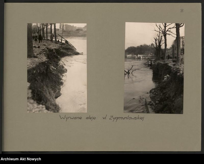 """Obraz 11 z jednostki """"Powódź na Wileńszczyźnie w 1931 r. Album z fotografiami."""""""