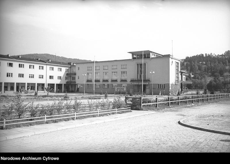 Obiekt Budynek restauracji uzdrowiskowej. z jednostki Wisła