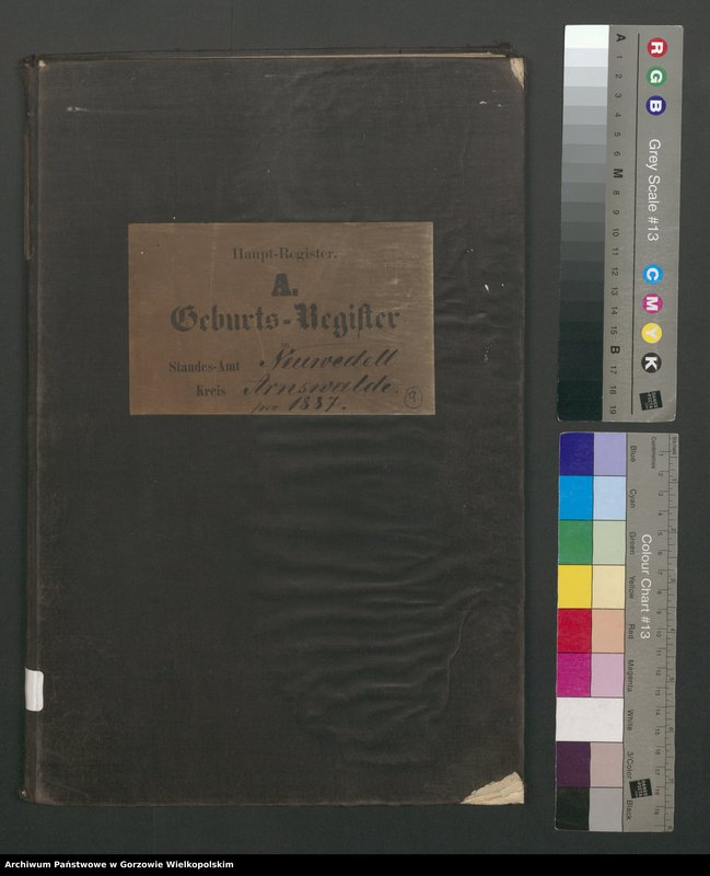 "Obraz 2 z jednostki ""Geburts Register"""