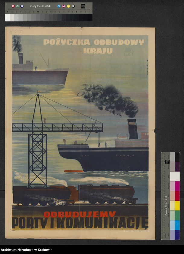 "image.from.collection.number ""Propaganda PRL- u w Zbiorze afiszy"""