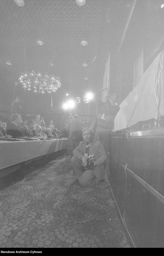 """Obraz 15 z jednostki """"Kongres Intelektualistów w Obronie Pokojowej Przyszłości Świata w Hotelu Victoria w Warszawie"""""""