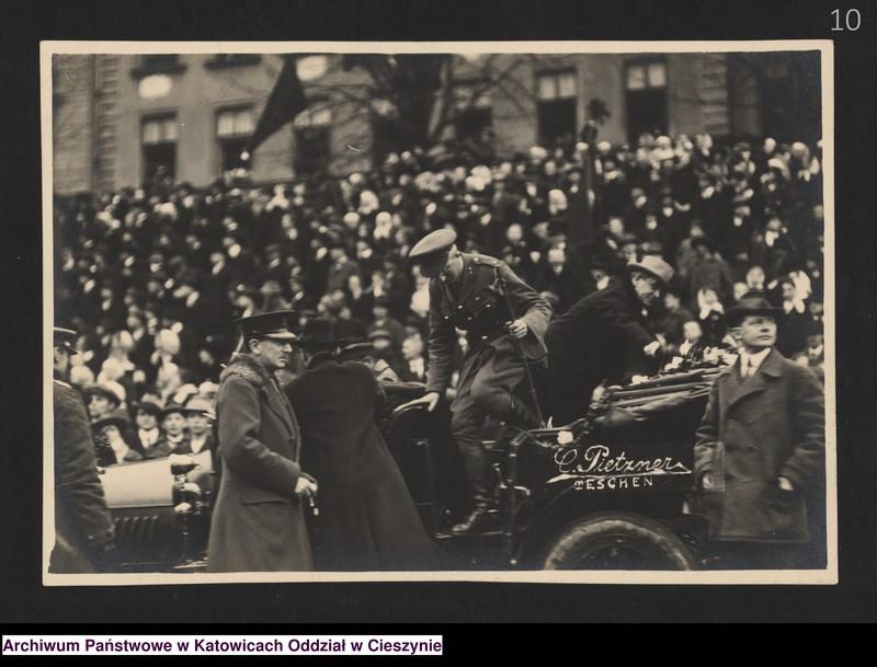 """Obraz 6 z kolekcji """"Fotografie Cieszyna z okresu 1918-1920"""""""