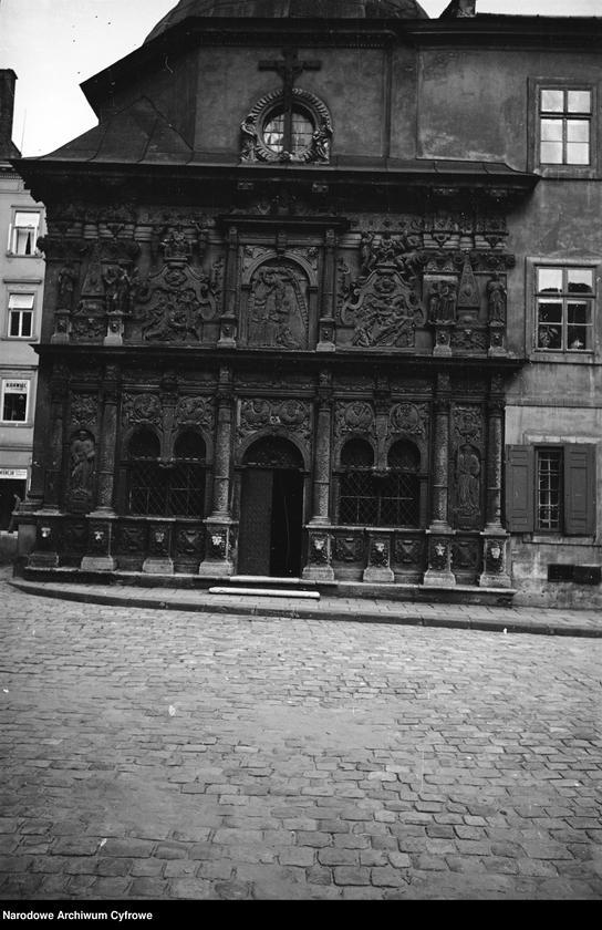 Obiekt Katedra łacińska p.w. Wniebowzięcia Najświętszej Marii Panny - Kaplica Boimów. Widok zewnętrzny. z jednostki Lwów