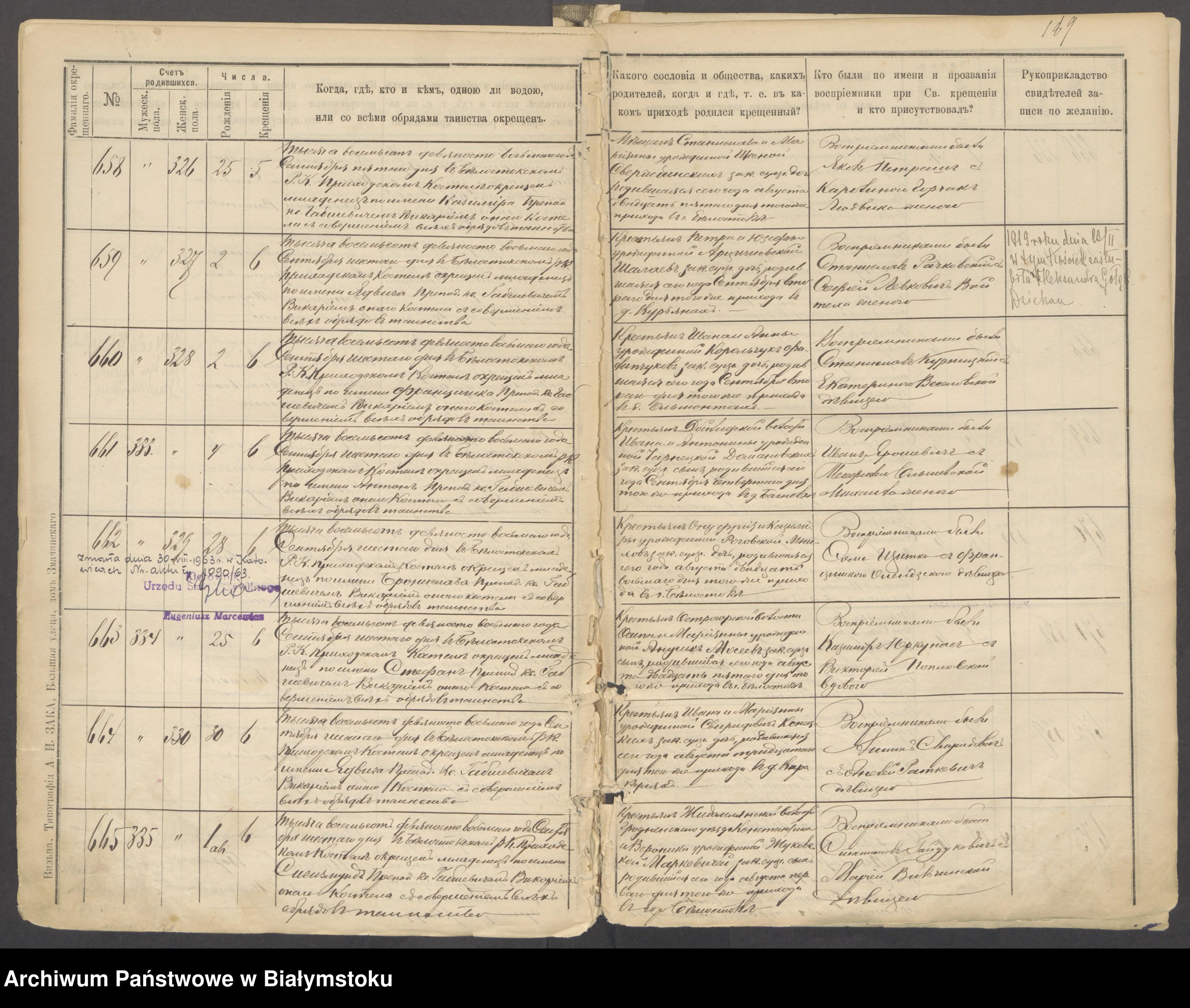 Skan z jednostki: [Akta urodzeń za lata 1897-1898]