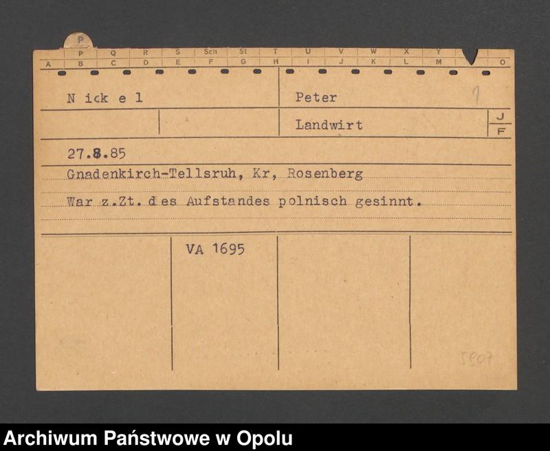 "Obraz 3 z jednostki ""[Nickel Peter, ur. 27.8.1885, zam. Gnadenkirch-Tellsruh]]"""