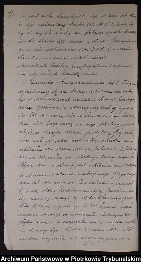 """Obraz 5 z kolekcji """"Nielegalne praktyki medyczne i znachorstwo sto lat temu. Przykład z powiatu piotrkowskiego"""""""