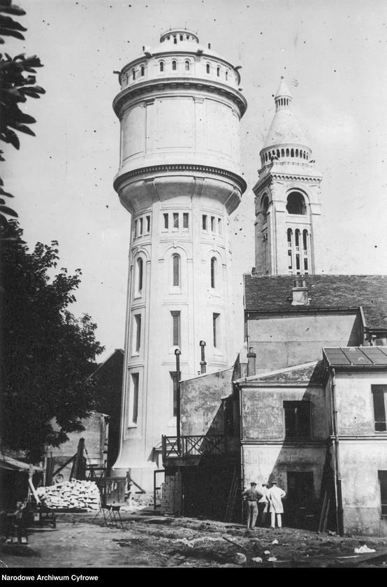 """Obraz 1 z jednostki """"Wieża ciśnień na Montmartre w Paryżu"""""""