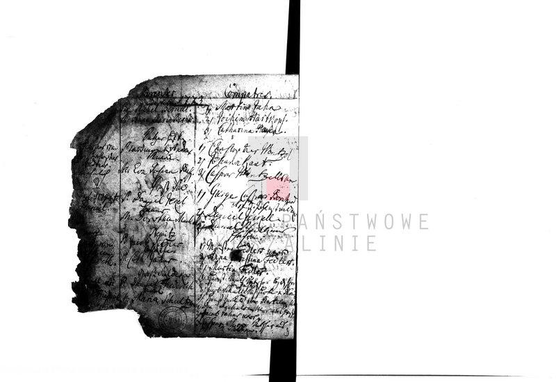 """Obraz 3 z kolekcji """"Najstarsze księgi metrykalne w zasobie AP w Koszalinie"""""""