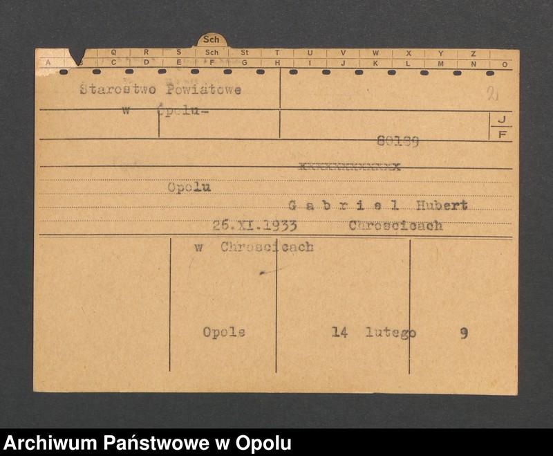 """Obraz 4 z jednostki """"[Nowak Josef, ur. 14.3.1879, zam. Lauschen]"""""""