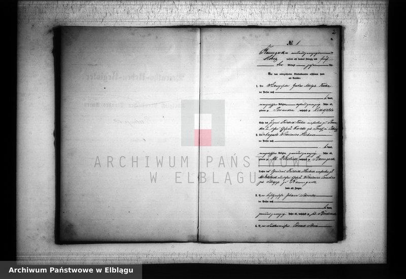 """Obraz z jednostki """"Księga małżeństw 1875 rok"""""""