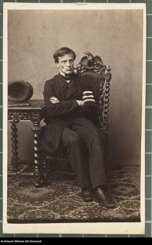 """Obraz 5 z kolekcji """"Fotografie członków Delegacji Miejskiej z 1861 roku"""""""