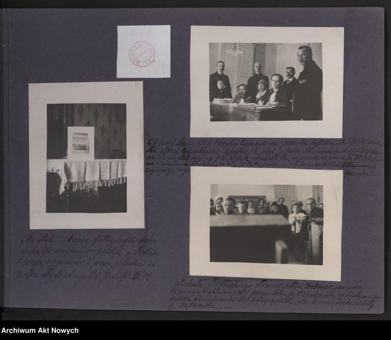 """Obraz 12 z kolekcji """"Album """"Szlakami wygnańców"""" 1915-1916"""""""