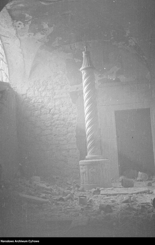 """Obraz 8 z jednostki """"Pobojowisko po bitwie o Monte Cassino - zniszczenia, jeńcy i chowanie poległych"""""""