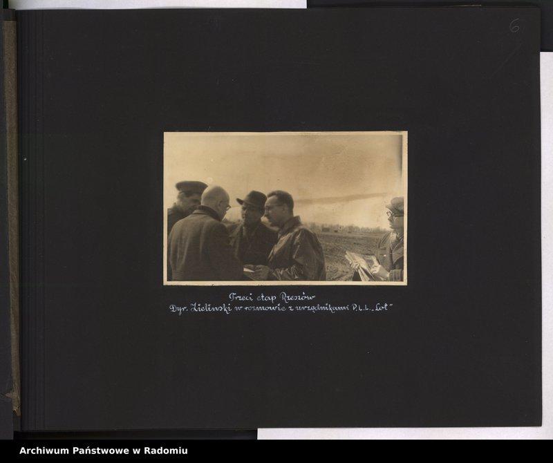 """Obraz 7 z jednostki """"[Album fotograficzny dokumentujący reaktywowanie krajowych połączeń lotniczych przez Polskie Linie Lotnicze """"Lot""""]"""""""