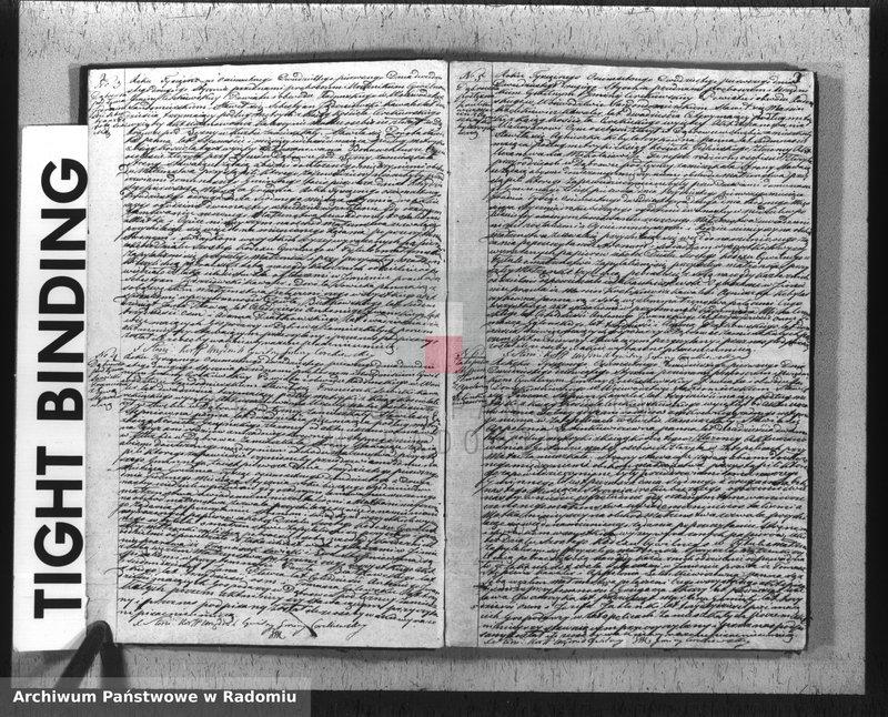 """Obraz z jednostki """"Akta Cywilne Zaślubionych, Zmarłych i urodzonych Gminy Cerekwskiej na rok 1821"""""""