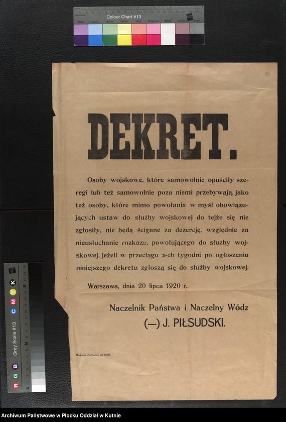 """Obraz 16 z kolekcji """"plakaty z wojny polsko-bolszewickiej"""""""