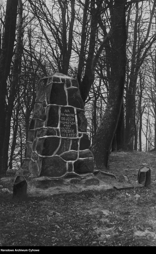 """Obraz 1 z jednostki """"Rozewie. Pomnik upamiętniający objęcie morza przez wojsko polskie"""""""