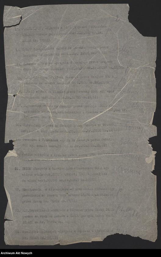 """Obraz z jednostki """"[Dzienniki posiedzeń za miesiąc X-XII 1919 r.]"""""""