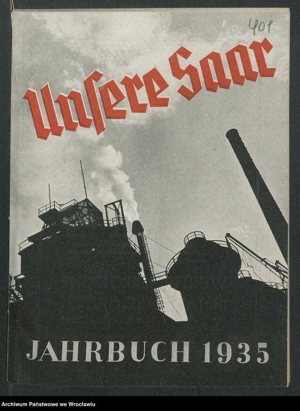 """Obraz 1 z kolekcji """"Reklamy znanych marek w roczniku """"Unsere Saar"""" z 1935 roku"""""""